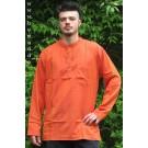 Fischerhemd orange